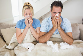 Mold may cause upper respiratory infection.